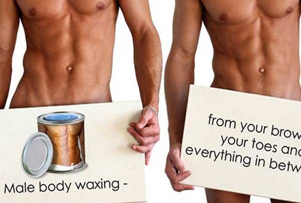 Boyzilian wax
